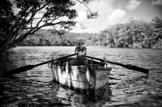 Rowing the backwaters of cuba. Christopher Michel