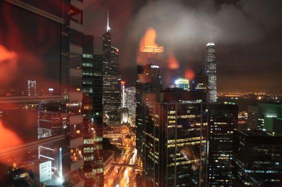 CHICMUSE.COM: Hong Kong at night