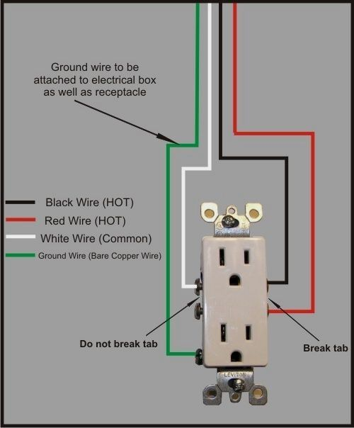 In Most Installations Of Electrical Outlets The Plug Is Fed By A Single Ci Home Electrical Wiring Basic Electrical Wiring Electrical Wiring