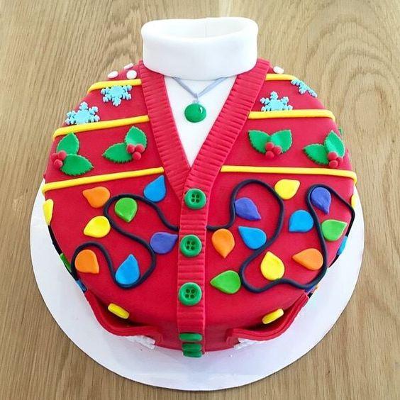 Christmas Jumper cake!!