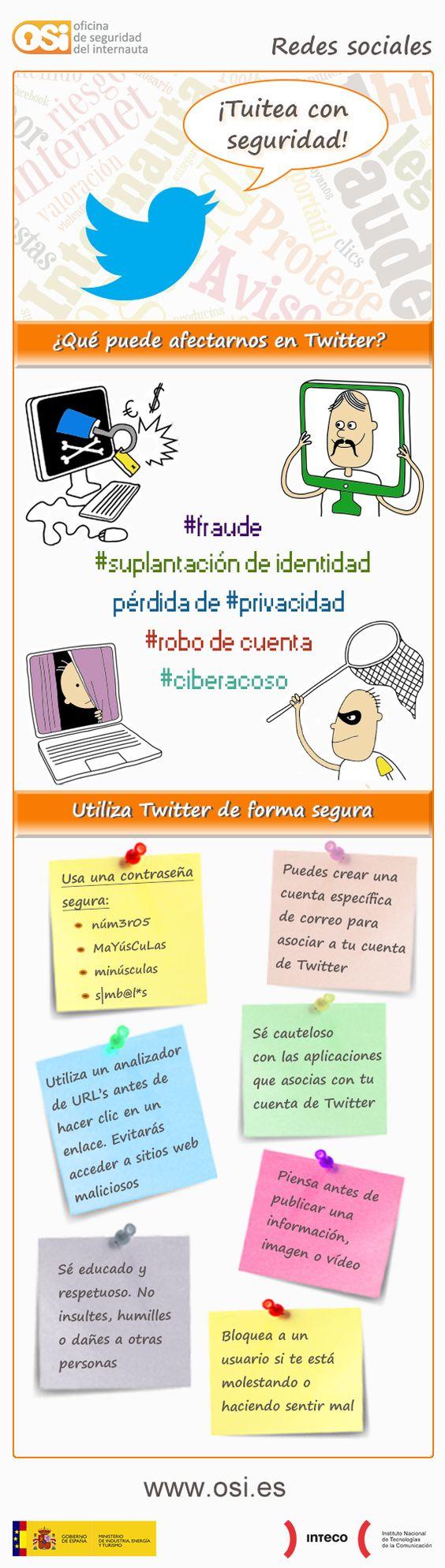 Tuitea con seguridad oficina de seguridad del internauta for Oficina seguretat social