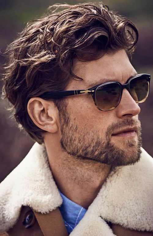 Derniere Epais Et Ondules Coiffures Pour Hommes Latest Men Hairstyles Curly Hair Men Mens Hairstyles Medium