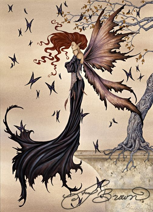 11x14 Art Print - Mystique by Amy Brown, Amy Brown, Fantasy Art Trading's Online Store