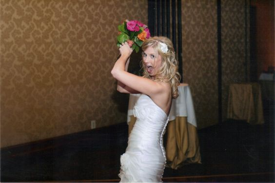 We took this photo durring our shooting of the Wishing Well...we had as much fun as the Bride did !