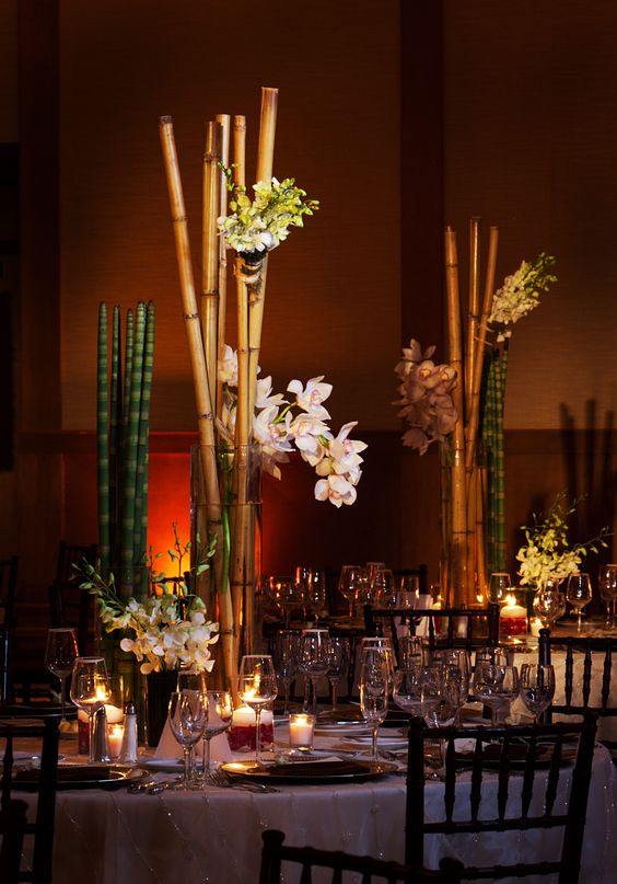 wedding decorations miami beautiful wedding centerpieces floral and decor by avant 9130