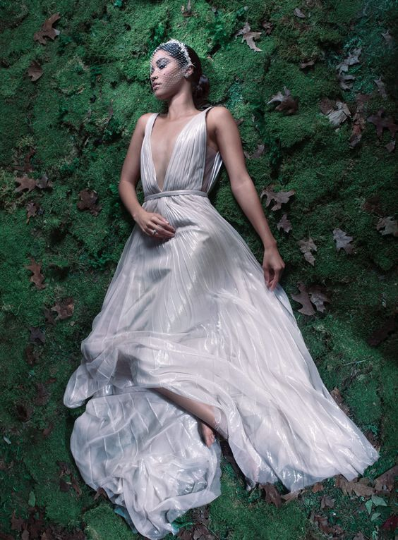 Wedding Gowns Fit for a Full-On Fairy Tale: J. Mendel