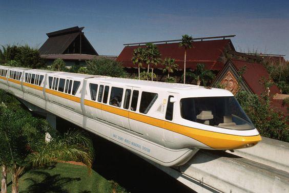 Disney World monorail basics