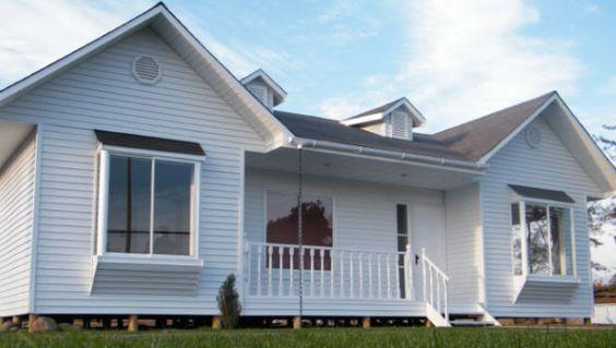 Wood house casas prefabricadas viviendas americanas - Casas americanas espana ...