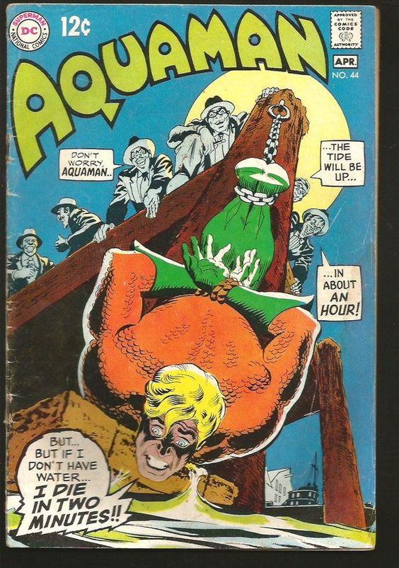 Aquaman historieta