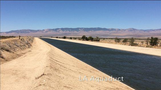 LA county aqueduct palmdale, california