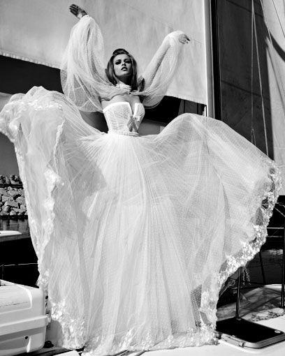 Vestido de Noiva longo e deslumbrante