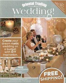 Oriental Trading Wedding Catalog & Coupon Code