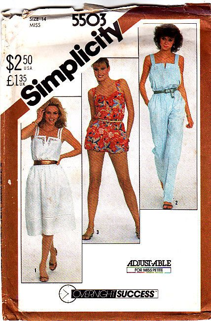 Simplicity 5503 Jumpsuit or Romper and by HeavenztoBetsyDesign