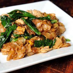 delicious Thai noodles