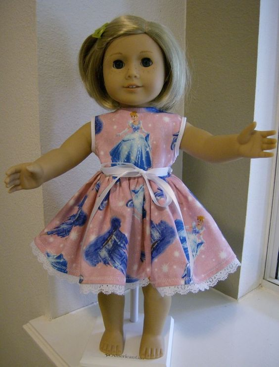 CINDERELLA PARTY DRESS 18 inch Doll Clothes  DISNEY PRINCESS girl AMERICAN  2371 #MandysOneTwo
