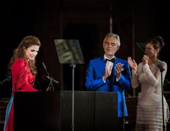 Queen Rania's speech at The Andrea Bocelli Humanitarian Award - Florence, Italy