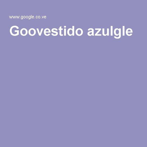 Goovestido azulgle