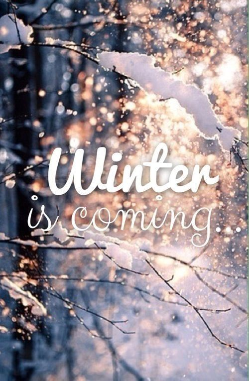 Winter is coming~snow