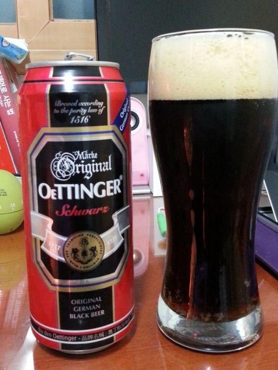 bia oettinger đen đức