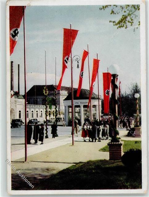 Frantiskovy Lazne Propaganda WK II Adolf-Hitler-Platz WK II: Ansichtskarten-Center Onlineshop