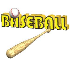 Imágenes de bates de béisbol en movimiento Gifs