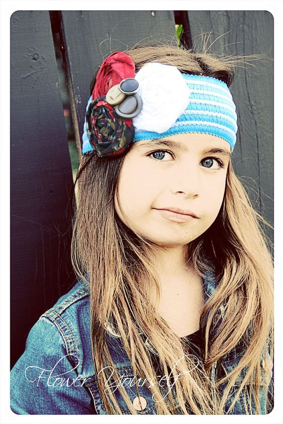adorable headband! go to Flower Yourself facebook page for coupon code