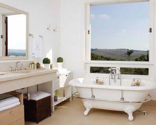 """""""Entre Esboços"""" Design Interior: Banheiras Vitorianas: História e Sensualidade"""