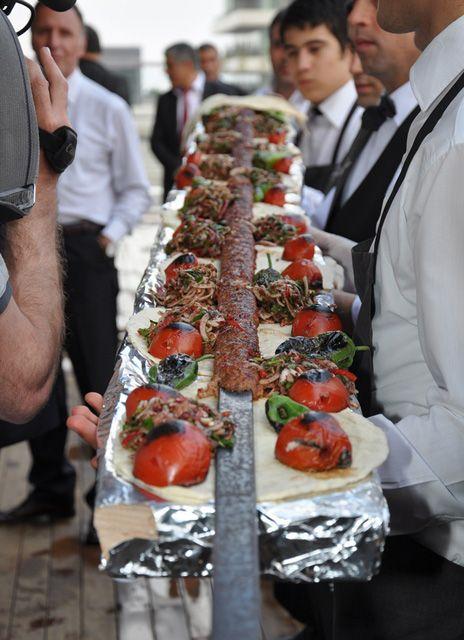 Adana Kebab, Brocheta de carne picada, Turquía