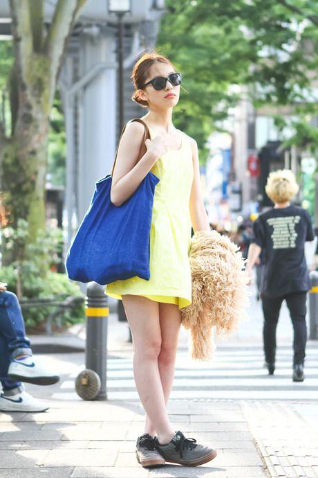 ストリートスナップ [友理] | moussy, VANS | 原宿 | 2012年06月20日 | Fashionsnap.com