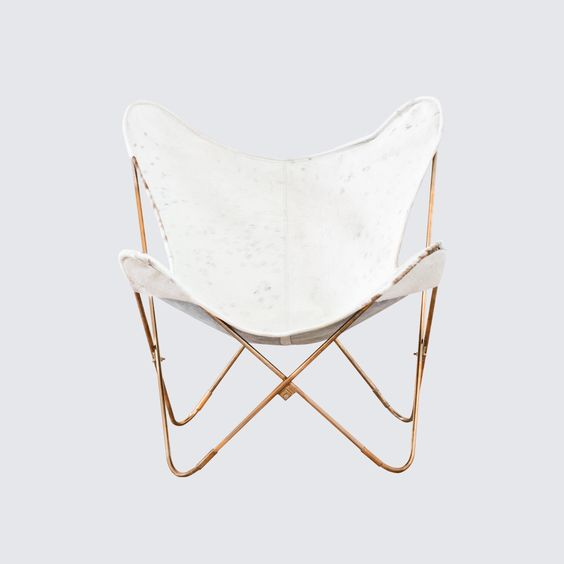 Palermo Copper Chair - Cowhide for Shannon