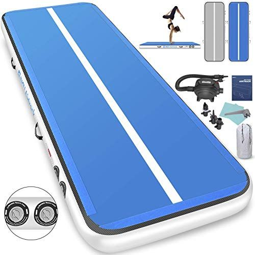 Buy Furgle 10ft 13ft 16ft 20ft Inflatable Airtrack Gymnastics Tumbling Floor Mat Tumble Track Air Mat Home Use Air Track Electric Air Pump Kids Gym Training P Gymnastics Tumbling Mat Air Track Gymnastics Mats