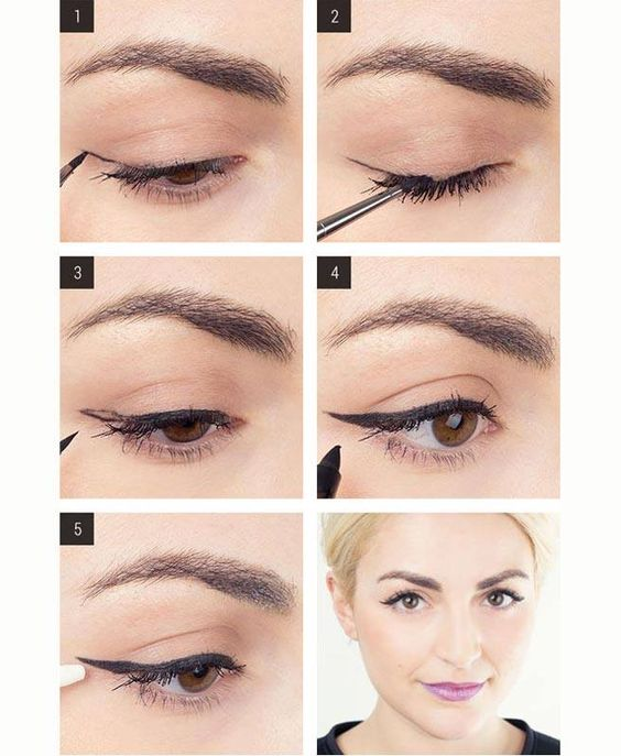 How to get the perfect cat's eye makeup – have a go and let us know how you get on.