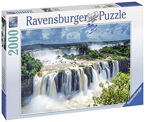 Ravensburger Puzzle Da 2000 Pezzi Con Tema La Cascata Dell Iguazù Brasile Paesaggi Puzzle Cascate Di Iguazu