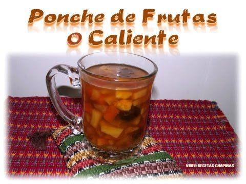 Deliciosa bebida a base de frutas frescas y deshidratadas, con canela y azúcar, en Guatemala se toma especialmente en Navidad, puede llevar frutas como piña, papaya, manzana, plátano, coco, uvas y si desean darle un poquito de color se le puede agregar rosa de jamaica.  Espero les guste :O)