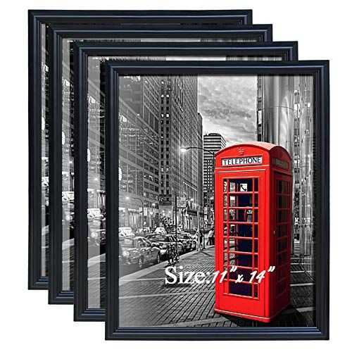 Petaflop 11x14 Pictrure Frame Fits Prints 11 X 14 Inch Black Poster Frame Pack Of 4 Check More At Https Fa Poster Frame 18x24 Poster Frame Wall Poster Frame