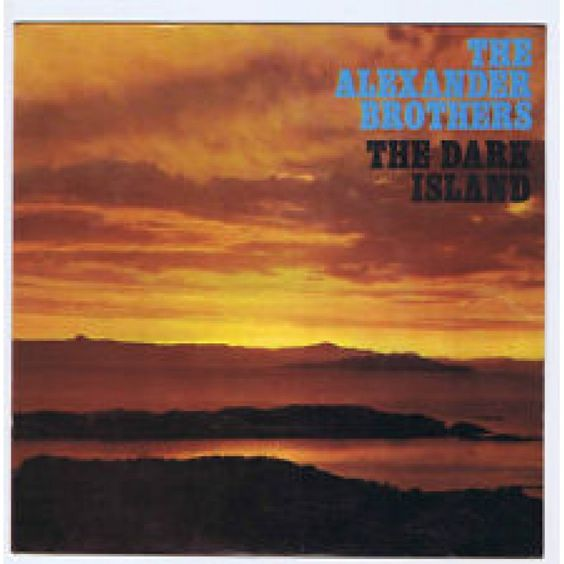 "7"" 45RPM The Dark Island EP by The Alexander Brothers from PYE"