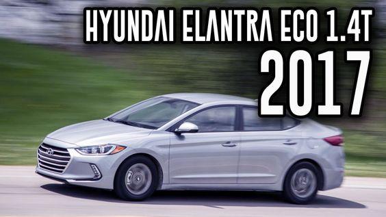 2017 Hyundai Elantra Eco 1.4T 7-Speed Automatic Review