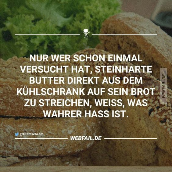 ...wahrer Hass....
