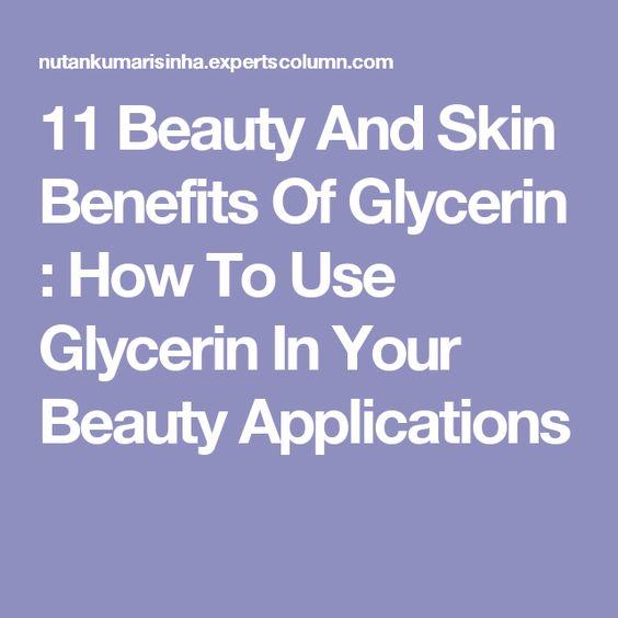 article beauty skin benefits glycerin your applicati