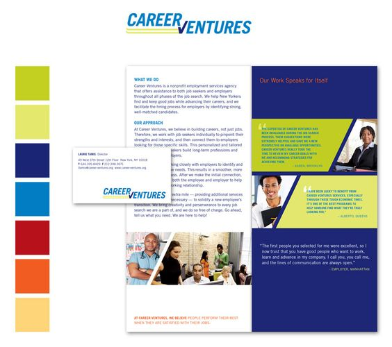 Branding for Employment Services Agency by Intend Creative