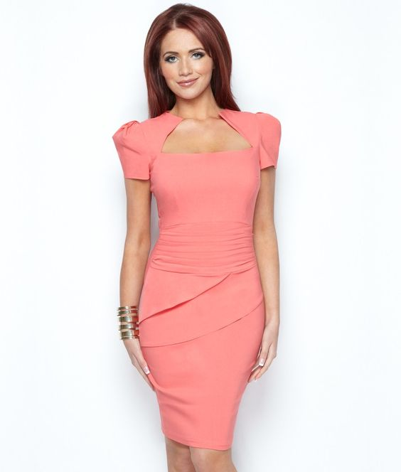 Amy Childs Brigette Layered Dress