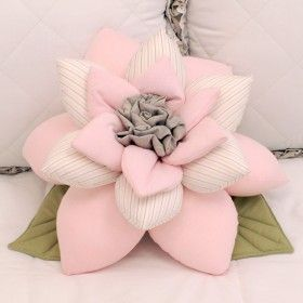 Almofada Flor Primavera Rosa