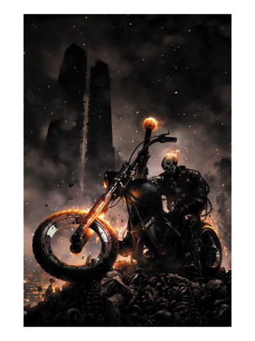 Ghost Rider #6 Cover: Ghost Rider