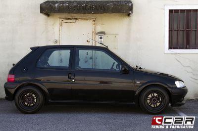 #106 GTI #106 #GTI #Peugeot 106 GTI #C2R #C2Racing #Wilwood #Supersprint #Enkei #Enkeiwheels