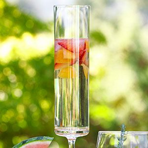 St-Germain Fizzy Recipe - perfect for brunch and luncheons!