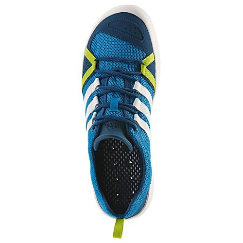 Adidas Climacool is a quick-drying outdoor shoe which is light and snug for great agility. Climacool® provides cooling ventilation over the entire foot, from mesh upper to drainage outsole.