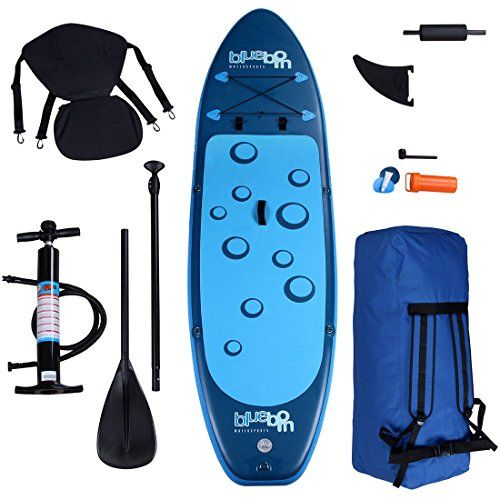 Blueborn Sup Traveller Blue 305x77x11 Stand Up Paddle B 04260371520866 Mit Bildern Paddel Stand Up Paddeln Stand Up Paddle Board