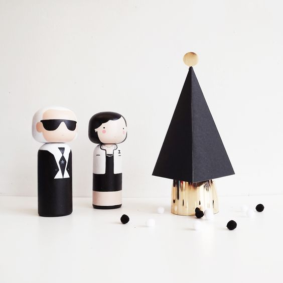 Merry Christmas from Coco and Karl - Sketchinc: