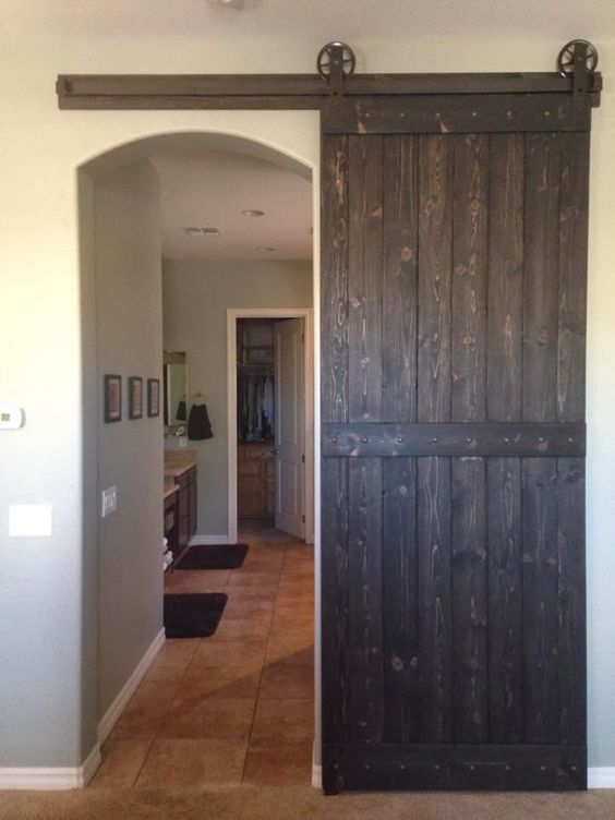 Barn Door over arched opening | For the Home | Pinterest | Barn doors Barn and Doors & Barn Door over arched opening | For the Home | Pinterest | Barn ... Pezcame.Com