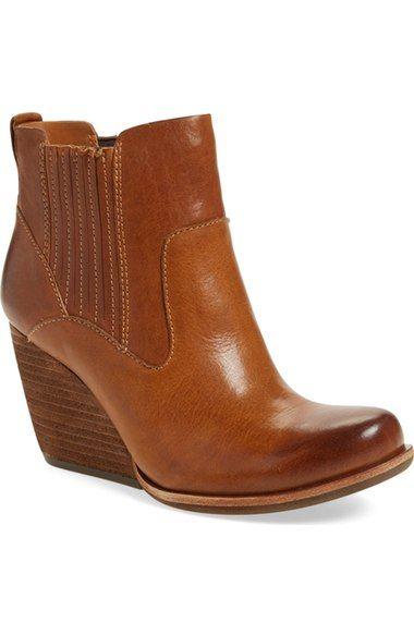 Kork-Ease® 'Verdelet' Wedge Bootie (Women) available at #Nordstrom